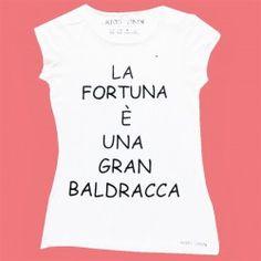 T-shirt Kris-n-kris slogan fortuna