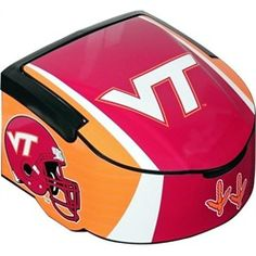 Virginia Tech Hokies 12 Can Cooler Portable Tailgate Cooler
