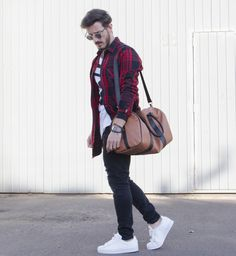 Outfit Men, Fashion Men, Men Style, Adidas Superstar, jeans style, long shirt, menbag - www.rodrigoperek.com