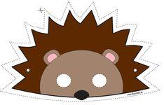 Télécharger le masque : http://it.piccolini.com/maschere-carnevale/2012/il-piccolo-riccio/