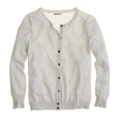 Featherweight cashmere cardigan