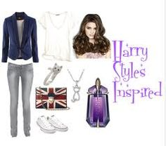 I would wear this because then I'd match Harry <3 (: