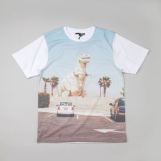 The Quiet Life Roadside T Shirt White
