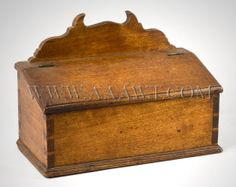Candle Box...for the wall. American Early 19th Century    aaawt.com