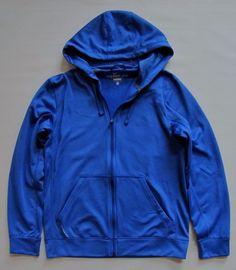 Nike Men's Therma-fit Hoodie Small Knock out Royal Blue Full Zip Training Jacket #Nike #Hoodie