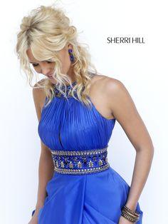 Beautiful Beads Embellished Prom Dress sherri hill 11318