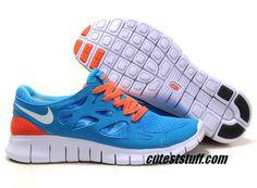 616ca43f046e Best Gift Nike Free Run 2 Size 12 Chlorine Blue White Black Total Orange  Shoes Shop