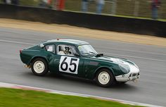 Triumph Spitfire .. No65 .. ADU 3 B .. 1964 Le Mans , driven by J.F.Piot / J.L. Marnat .. DNF .. crashed