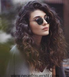 Curly and long hairstyles for a new appearance  #appearance #curly #hairstyles