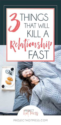 We always hear about the things that make a relationship good, but what about the things that kill a relationship, things that aren't pretty to talk about? Are you doing any of these things in your relationship that could be causing damage?