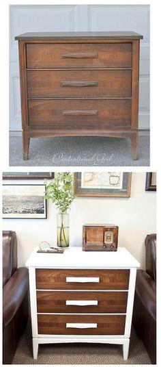 Great Dresser Re-Do : Centsational Girl A little paint...