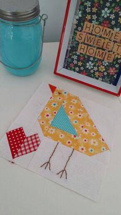 # babychickblock #farmgirlvintage by Bee in my Bonnet