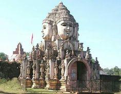 The Maha Meru Shree Yantra Temple, Amarkantak, Madhya Pradesh.