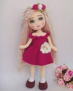 Cute and Amazing Amigurumi Doll Crochet Pattern Ideas - Page 35 of 56 - Daily Crochet! Crochet Doll Pattern, Crochet Patterns Amigurumi, Amigurumi Doll, Amigurumi Tutorial, Knitted Dolls, Crochet Dolls, Doll Clothes Patterns, Doll Patterns, Caleb Y Sophia