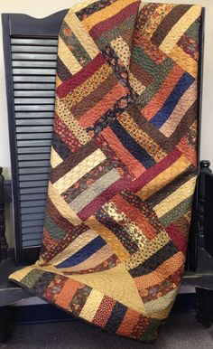 Midland Rails pdf quilt pattern by myreddoordesigns on Etsy