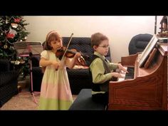 """has been so excited about Christmas this year.  She has so many concerts, recitals, and performances.  She began right away practicing some new Christmas songs on her violin.    Here she is playing """"The Little Drummer Boy""""—See more of young violinist #daughterA_from_beckalynn3"""