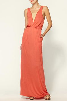 11 Date-Night Dresses For Valentine's Day #refinery29  http://www.refinery29.com/valentines-day-date-dresses#slide8  Hive & Honey Suede Detail Maxi Dress, $59, available at Piperlime.