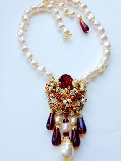 Stanley Hagler N.Y.C. Timeless Design, Vintage Designs, Costume Jewelry, Vintage Jewelry, Designers, Jewelry Design, Jewellery, Bracelets, Red