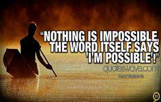 i 'm possible