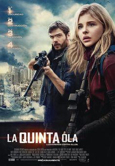 La quinta ola  (The 5th Wave): una de esas películas entretenidas que uno entra a ver cuando no hay mucho en cartelera. Tiene de todo: acción, suspenso, terror, romance y ciencia ficción.