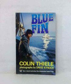 Blue Fin Colin Thiele vintage film edition 1978 colour photographs classic novel