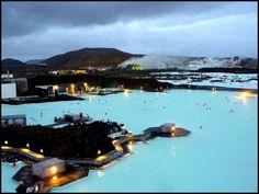 Lagoa Azul, Islândia #SPA