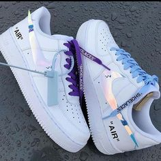 All Nike Shoes, Nike Shoes Air Force, White Nike Shoes, Hype Shoes, Nike Custom Shoes, Kd Shoes, Air Force Sneakers, Shoes Style, Jordan Shoes Girls