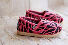Pink zebra Toms!