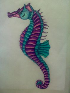 Seahorse by ~l0stwithalice on deviantART