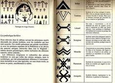 Berber art Tattoo