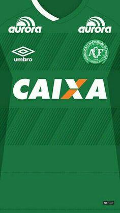 Chapecoense 16-17 kit home #forçachape