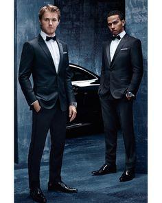4f2cdbb0b Ryan Kennedy Models the Hugo Boss x Esmod Collaboration | focus | Hugo boss,  Hugo boss man, Mens fashion