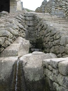 Machu Picchu had running water long before the creation of the USA was even thought of!  (Las Fuentes Litúrgicas)