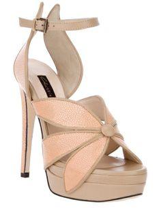 Chrissie Morris Chan Sandal in Pink (blush) | Lyst