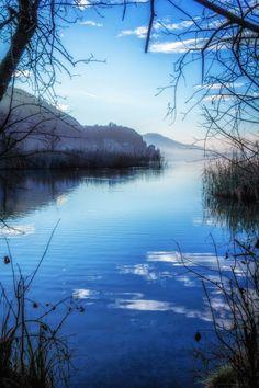 Wörthersee (Lake Wörth) in Carinthia, Austria