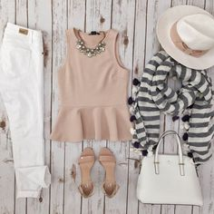 Spring Summer Combination #work #casual #office 2015