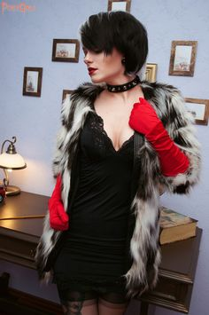 cruella de vil pinup cosplay cosplay pinterest. Black Bedroom Furniture Sets. Home Design Ideas