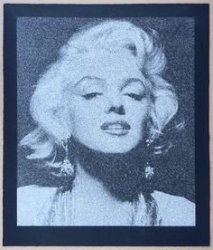 Russell Young - Marilyn Portrait
