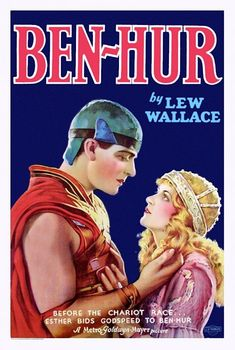 Movie Poster, Ben-Hur 1925