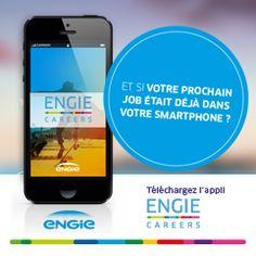 Et si votre prochain job était déjà dans votre smartphone?  L' #application ENGIE Careers est disponible! Le meilleur moyen de vous tenir informé en temps réel des dernières offres d'emploi du Groupe et bien plus... Connection, Career, Smartphone, Let It Be, Budget, Job Offer, Group, Carrera