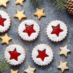 Low Carb Linzer Sterne