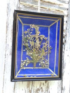 antique French framed wax bridal bouquet by histoireancienne