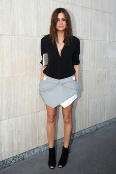 Trend: Faldas origami