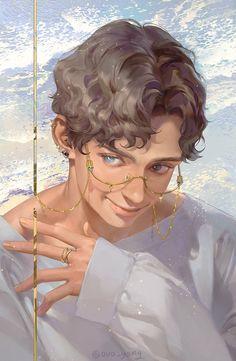 Digital Art Tutorial, Digital Painting Tutorials, Art Tutorials, Anime Kunst, Anime Art, Poses References, Wow Art, Character Design Inspiration, Anime Boys