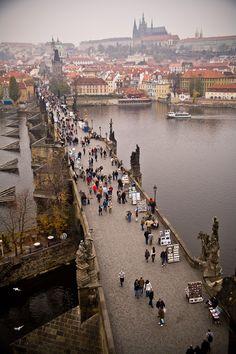 St. Charles Bridge, Prague, Czech Republic