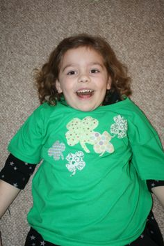 No Sew St. Patrick's Day Shirt/Onsie DIY   **EASY**