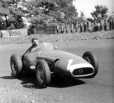 Juan Manuel Fangio, Maserati, GP de Alemania 1957