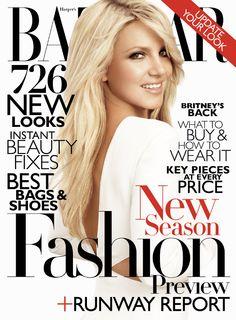Britney Spears on the cover of Harper's Bazaar | June 2011