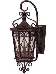 Felicity 3-Light Exterior Wall-Mount Lantern with Scrolls | House of Antique Hardware