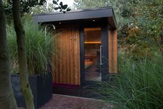 Outdoor sauna I Saunabouw Brabant I Natural Swimming Pools, Swimming Pools Backyard, Ponds Backyard, Lap Pools, Natural Pools, Indoor Pools, Pool Decks, Pool Landscaping, Building A Sauna